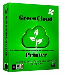 GreenCloud Printer Pro 7.8.9 With Crack
